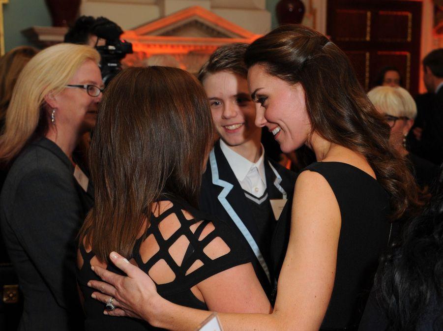 """Kate Middleton À La Remise Des Prix """"Place2Be Wellbeing In Schools"""" À Londres 4"""