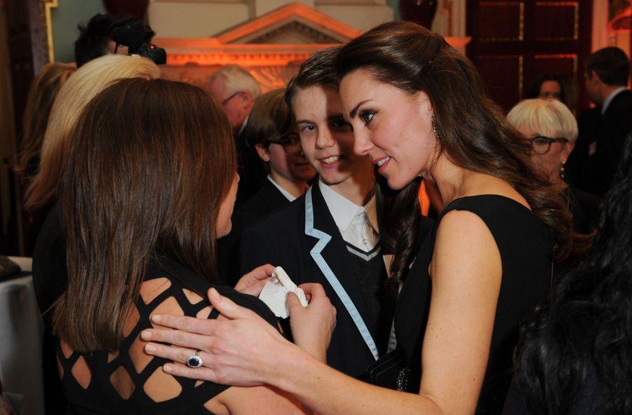 """Kate Middleton À La Remise Des Prix """"Place2Be Wellbeing In Schools"""" À Londres 5"""