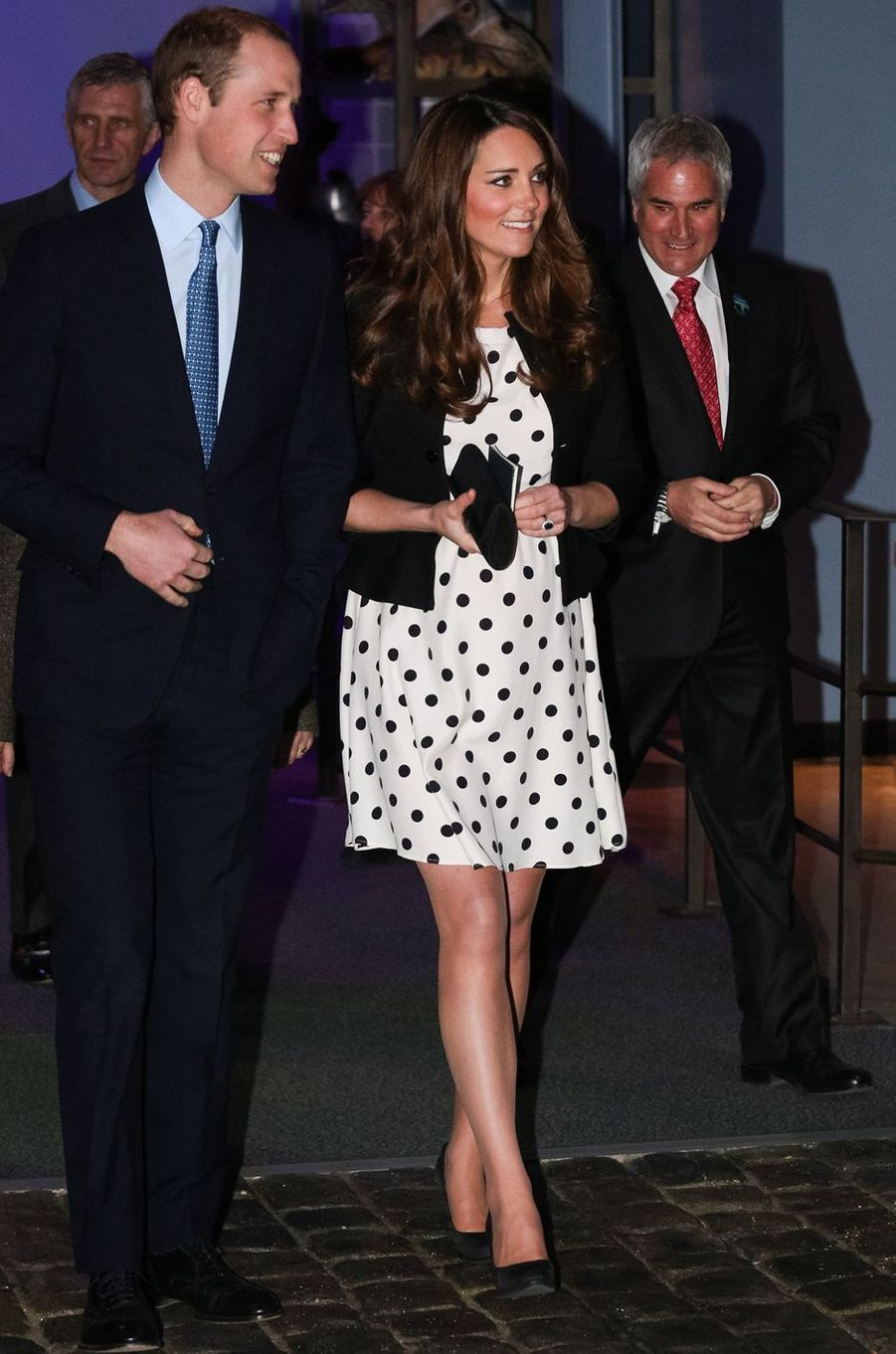 La duchesse Catherine de Cambridge en Topshop à Londres, le 26 avril 2013