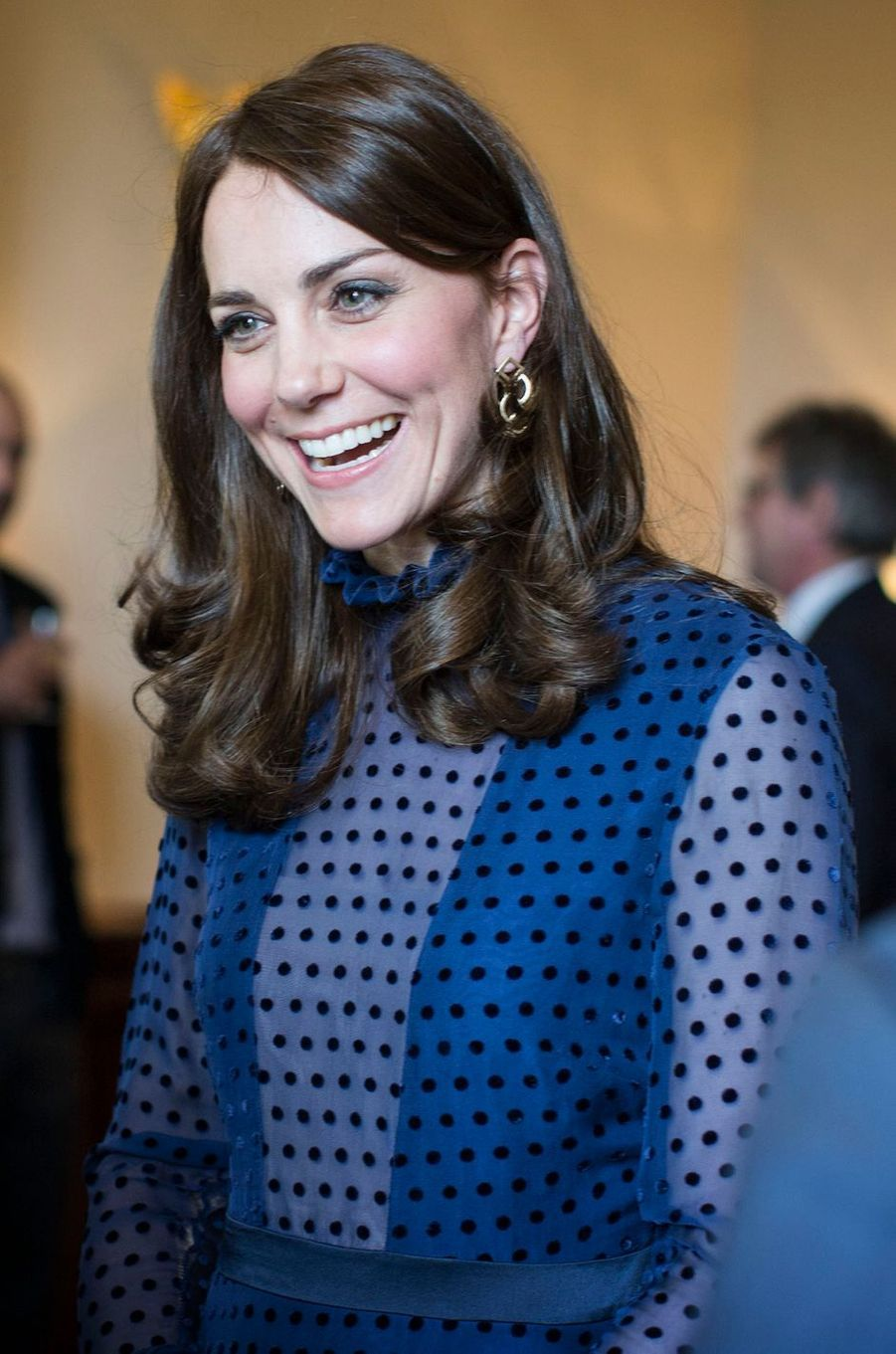 La duchesse Catherine de Cambridge à Londres, le 6 avril 2016