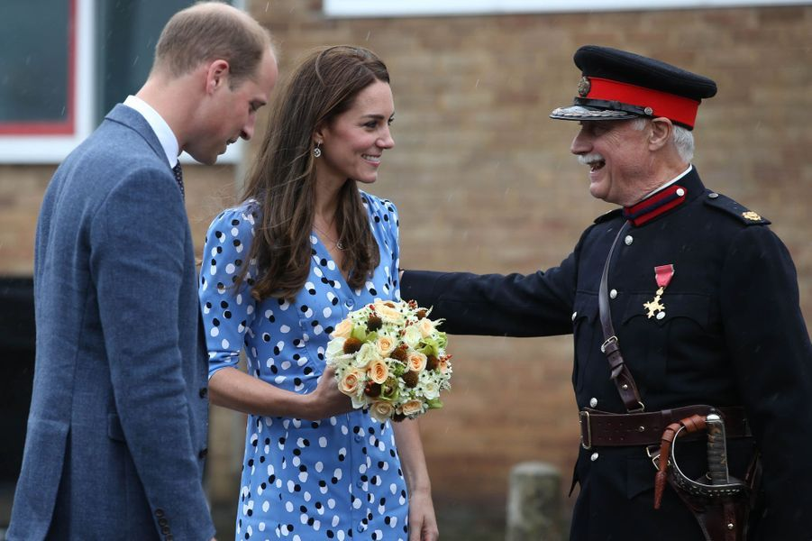 La duchesse Catherine de Cambridge à Londres, le 16 septembre 2016