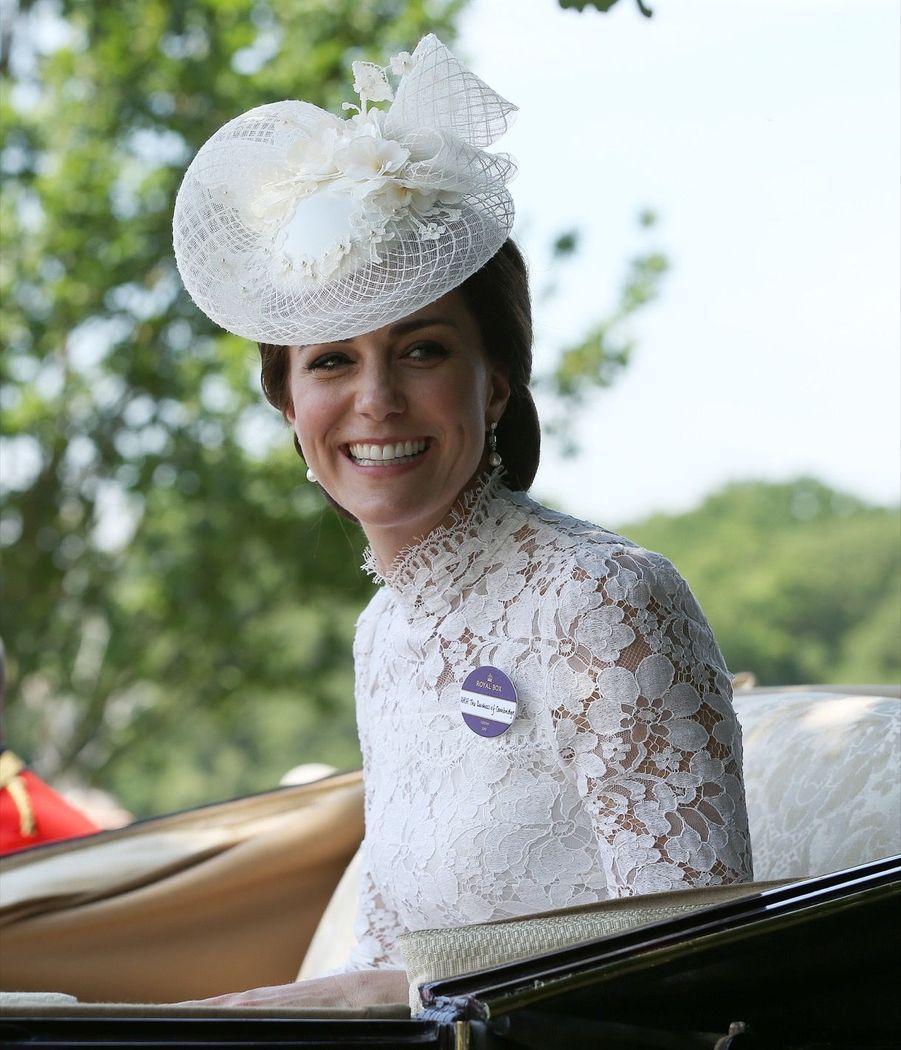 Kate Middleton au Royal Ascot