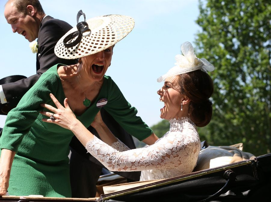 Kate Middleton rattrape la comtesse Sophie de Wessex