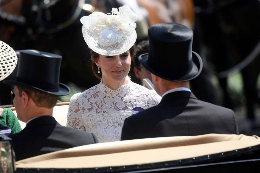 Les Windsor au Royal Ascot