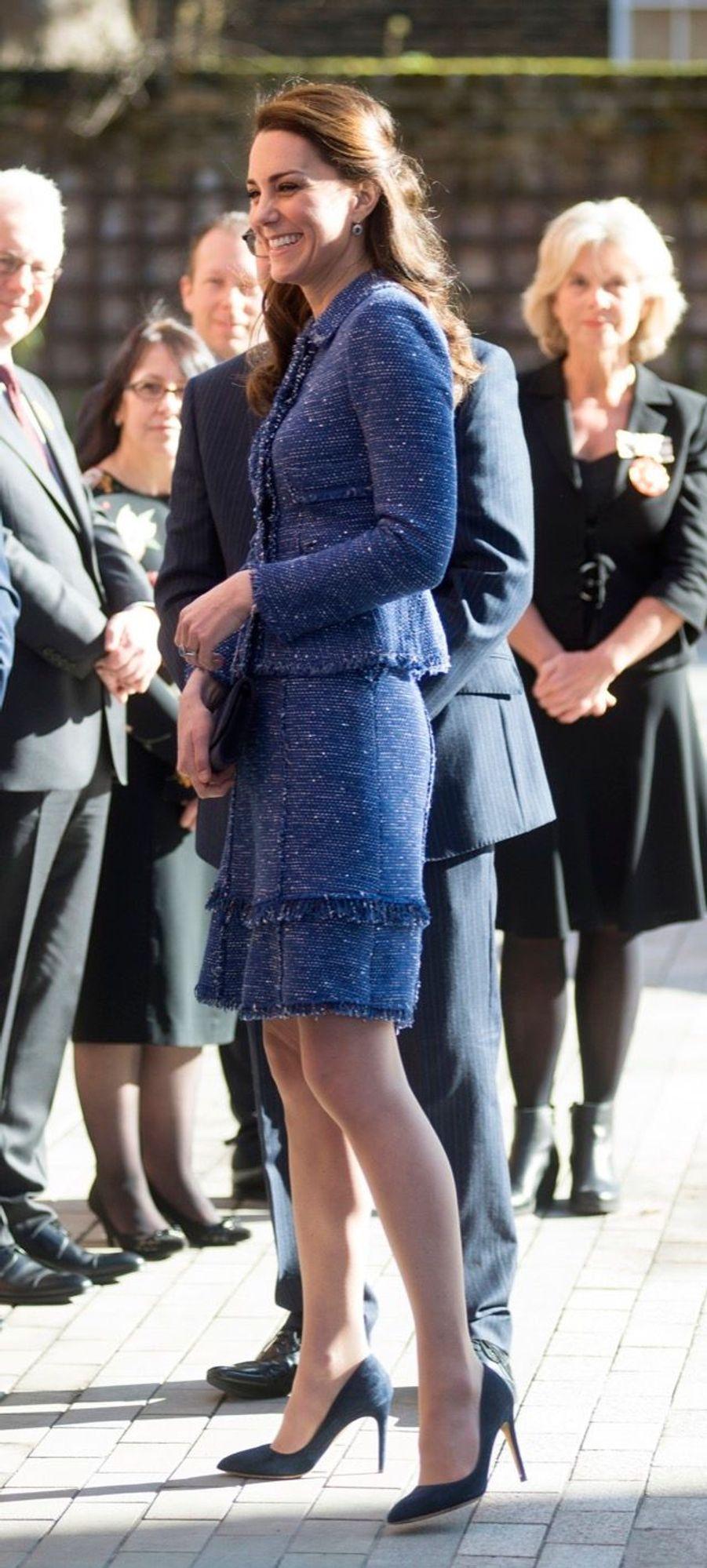 Kate Middleton À L'inauguration De La Maison Ronald McDonald À Londres, Le 28 Février 2017 1