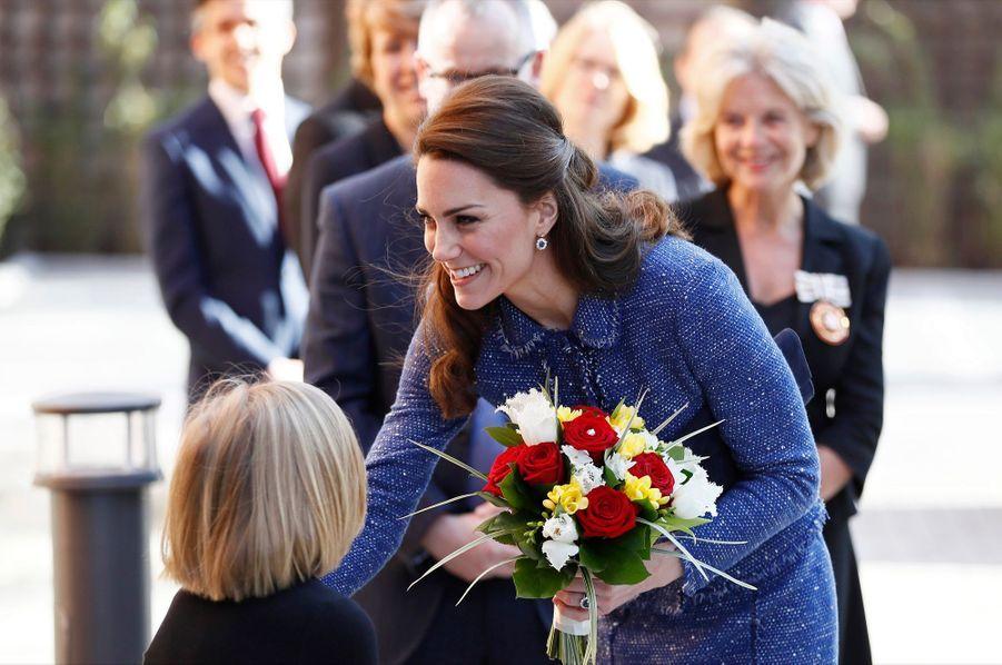 Kate Middleton À L'inauguration De La Maison Ronald McDonald À Londres, Le 28 Février 2017 10