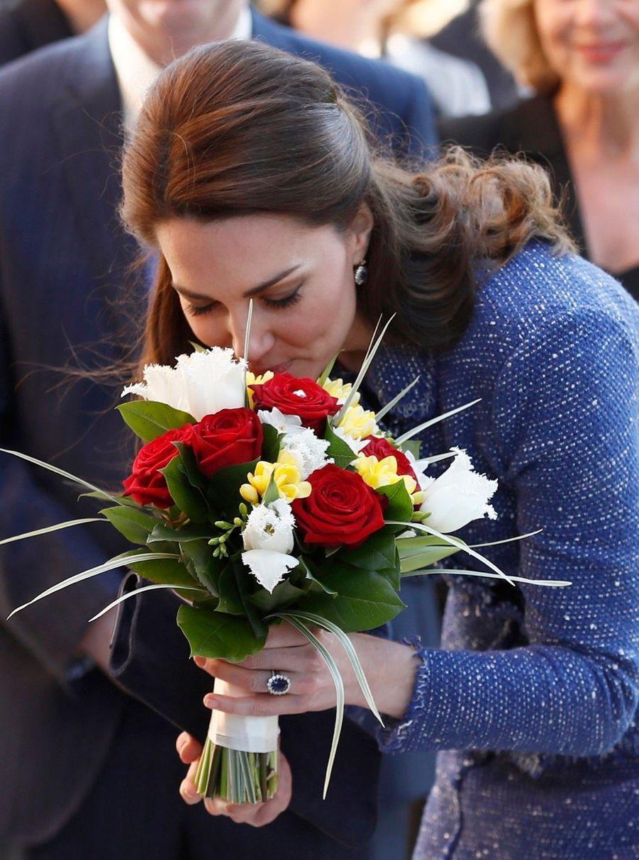 Kate Middleton À L'inauguration De La Maison Ronald McDonald À Londres, Le 28 Février 2017 11