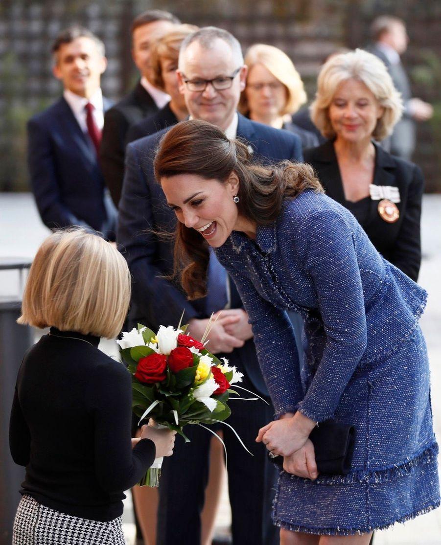 Kate Middleton À L'inauguration De La Maison Ronald McDonald À Londres, Le 28 Février 2017 12