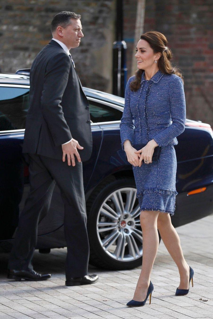 Kate Middleton À L'inauguration De La Maison Ronald McDonald À Londres, Le 28 Février 2017 13