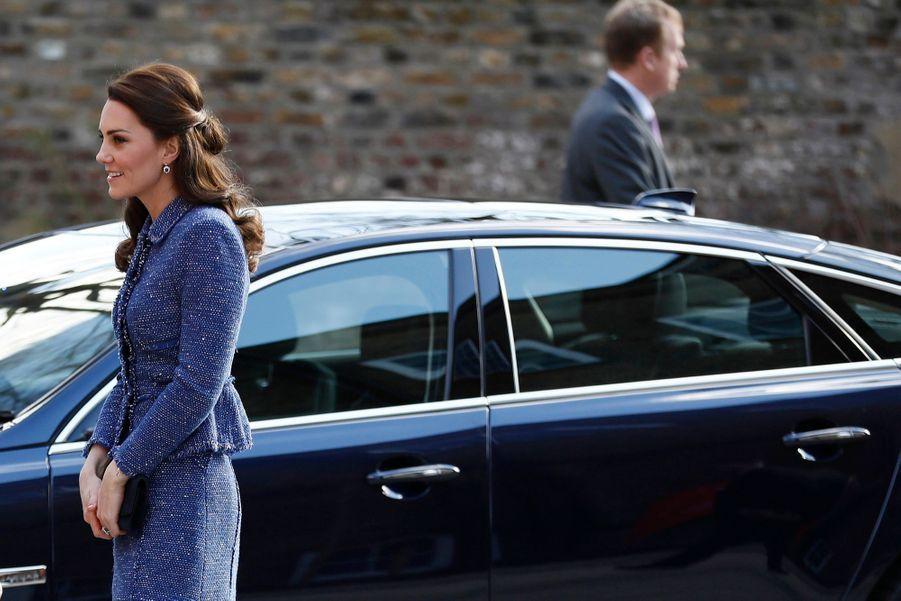 Kate Middleton À L'inauguration De La Maison Ronald McDonald À Londres, Le 28 Février 2017 14