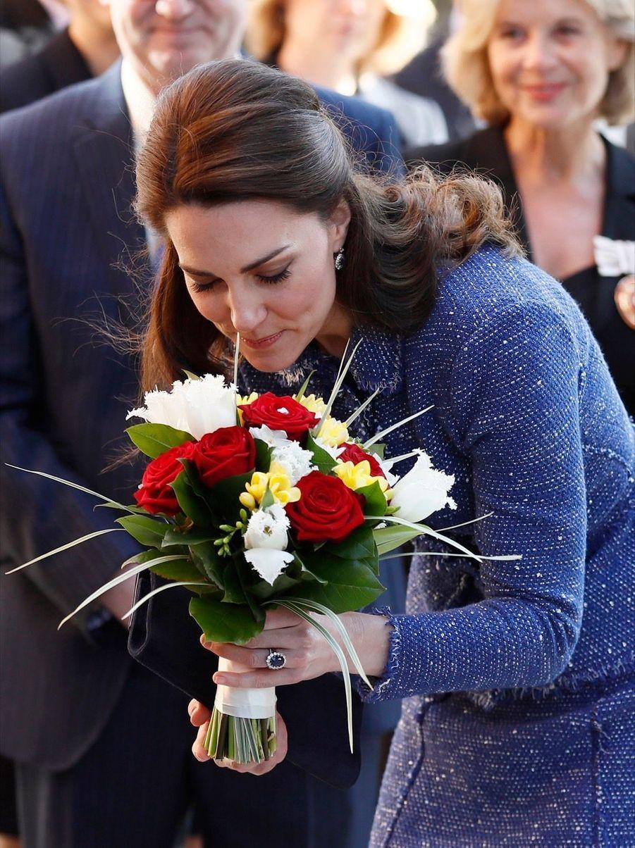 Kate Middleton À L'inauguration De La Maison Ronald McDonald À Londres, Le 28 Février 2017 15