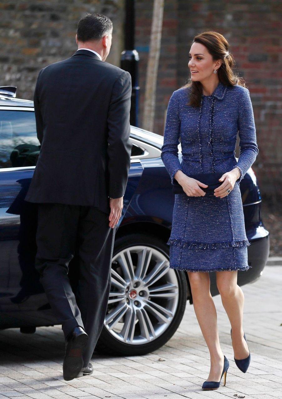 Kate Middleton À L'inauguration De La Maison Ronald McDonald À Londres, Le 28 Février 2017 16