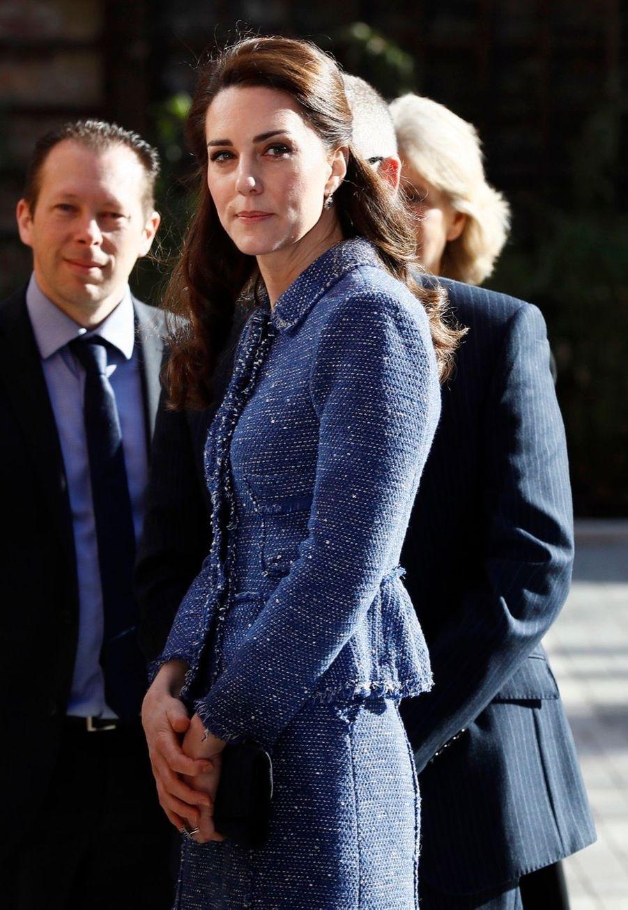 Kate Middleton À L'inauguration De La Maison Ronald McDonald À Londres, Le 28 Février 2017 17
