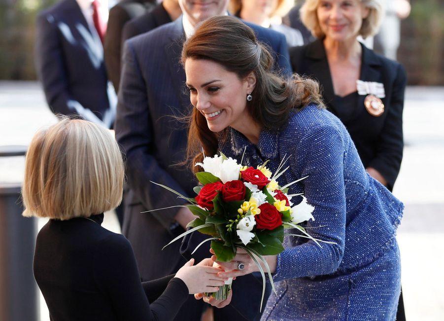 Kate Middleton À L'inauguration De La Maison Ronald McDonald À Londres, Le 28 Février 2017 18