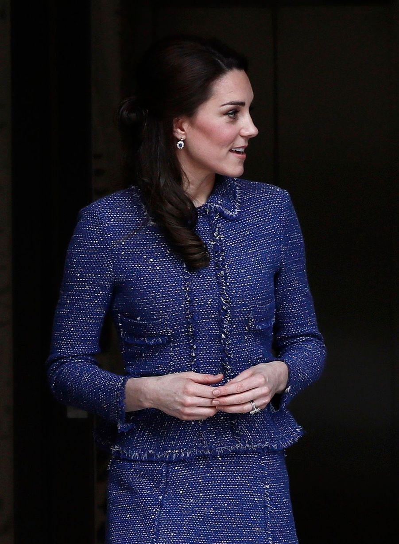 Kate Middleton À L'inauguration De La Maison Ronald McDonald À Londres, Le 28 Février 2017 19