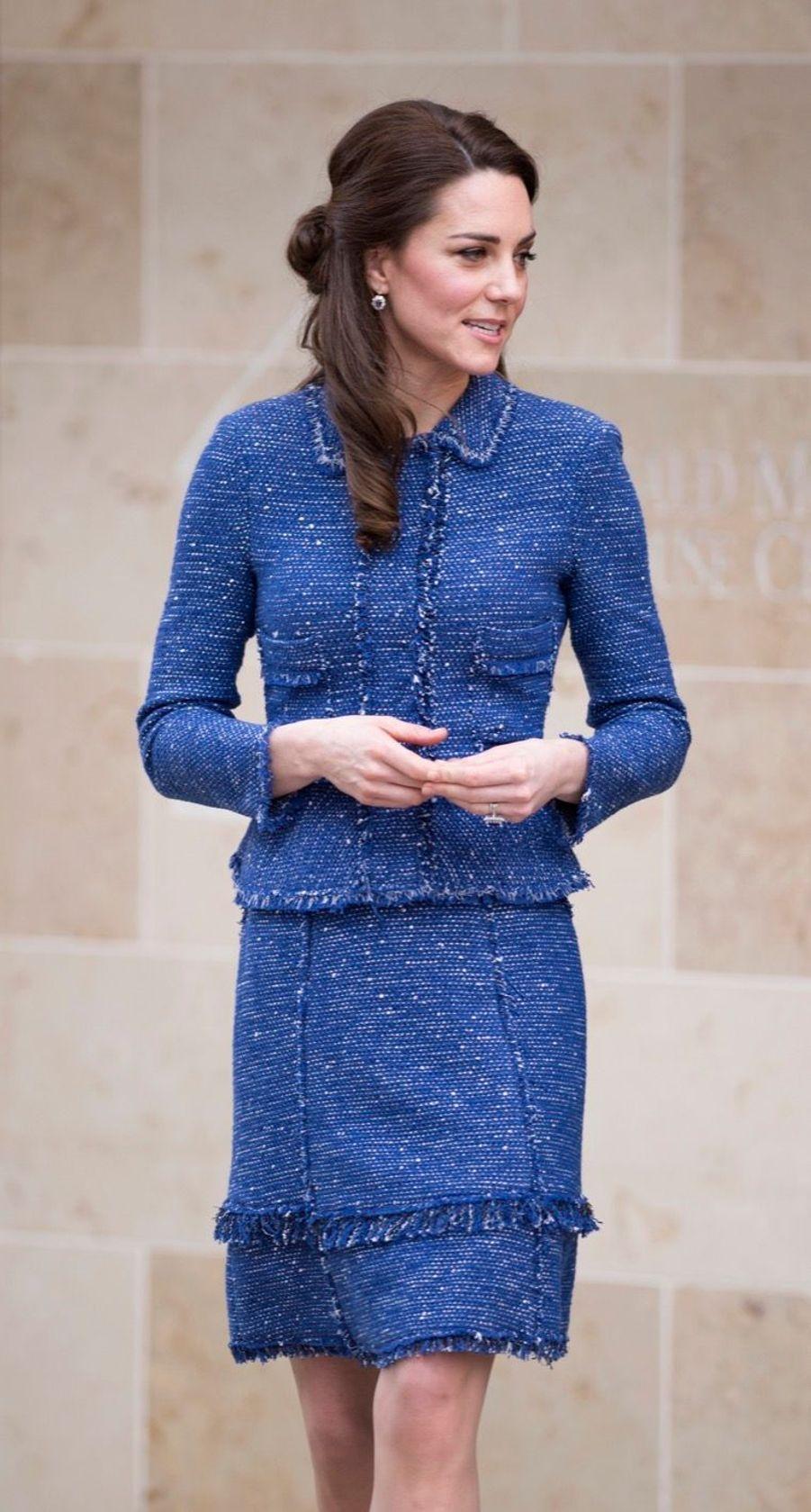 Kate Middleton À L'inauguration De La Maison Ronald McDonald À Londres, Le 28 Février 2017 2