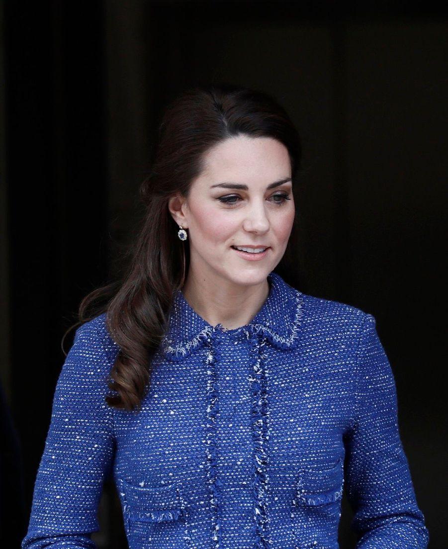 Kate Middleton À L'inauguration De La Maison Ronald McDonald À Londres, Le 28 Février 2017 20