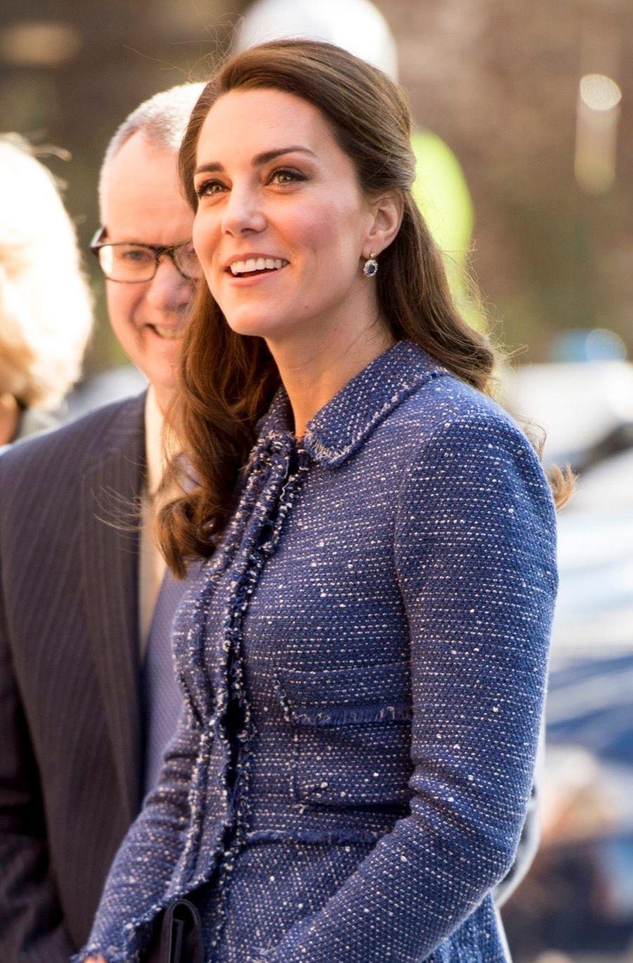 Kate Middleton À L'inauguration De La Maison Ronald McDonald À Londres, Le 28 Février 2017 3