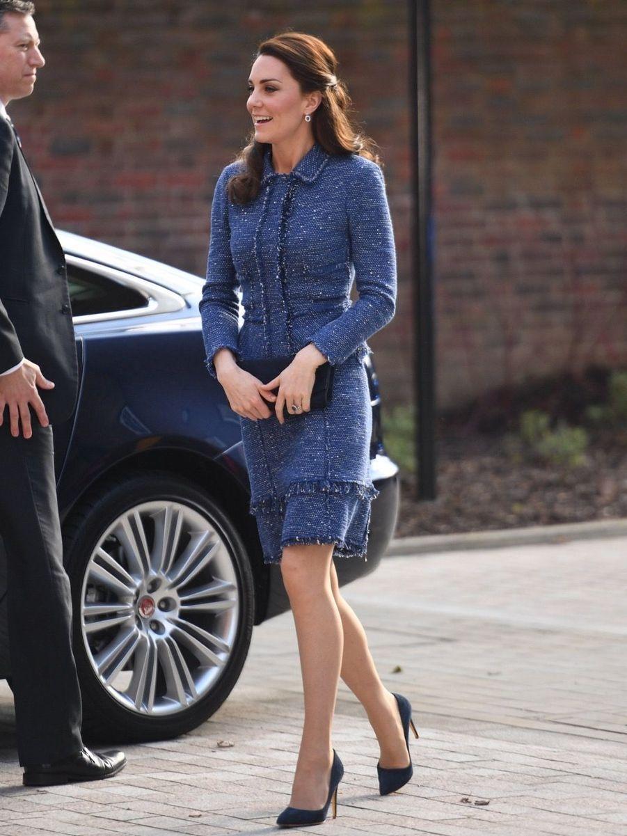 Kate Middleton À L'inauguration De La Maison Ronald McDonald À Londres, Le 28 Février 2017 6