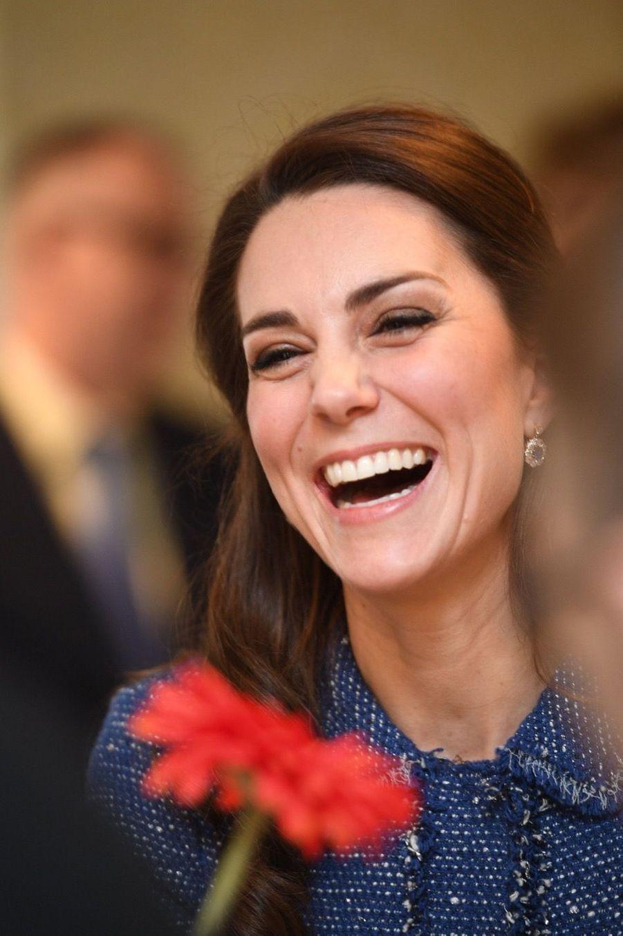 Kate Middleton À L'inauguration De La Maison Ronald McDonald À Londres, Le 28 Février 2017 7