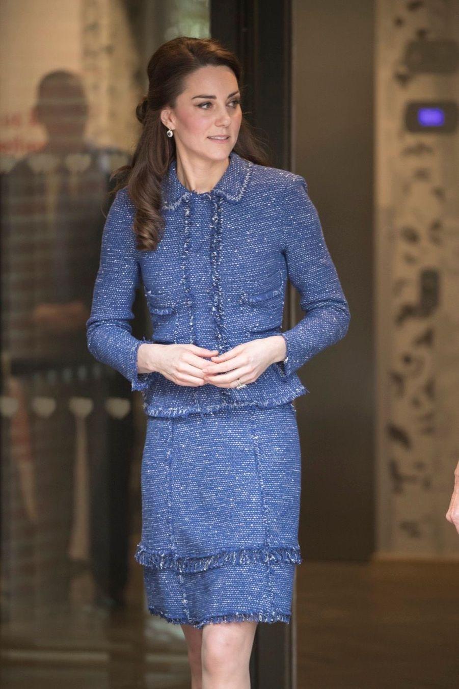 Kate Middleton À L'inauguration De La Maison Ronald McDonald À Londres, Le 28 Février 2017 9