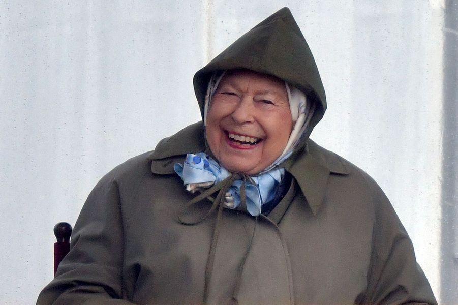 La reine Elizabeth II à Windsor, le 8 mai 2019