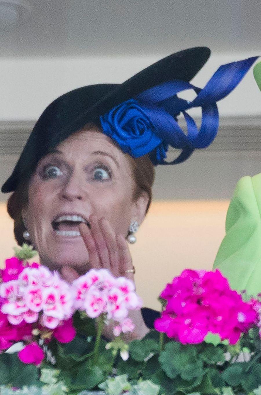 Sarah Ferguson au Royal Ascot, le 22 juin 2018
