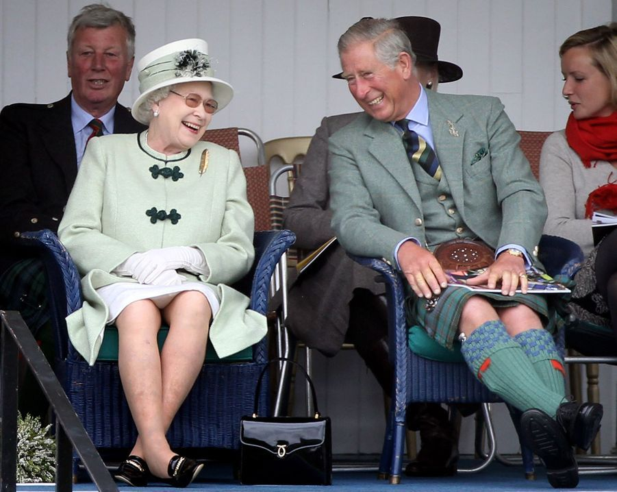 La reine Elizabeth II au Highland Braemar Gathering, le 4 septembre 2010