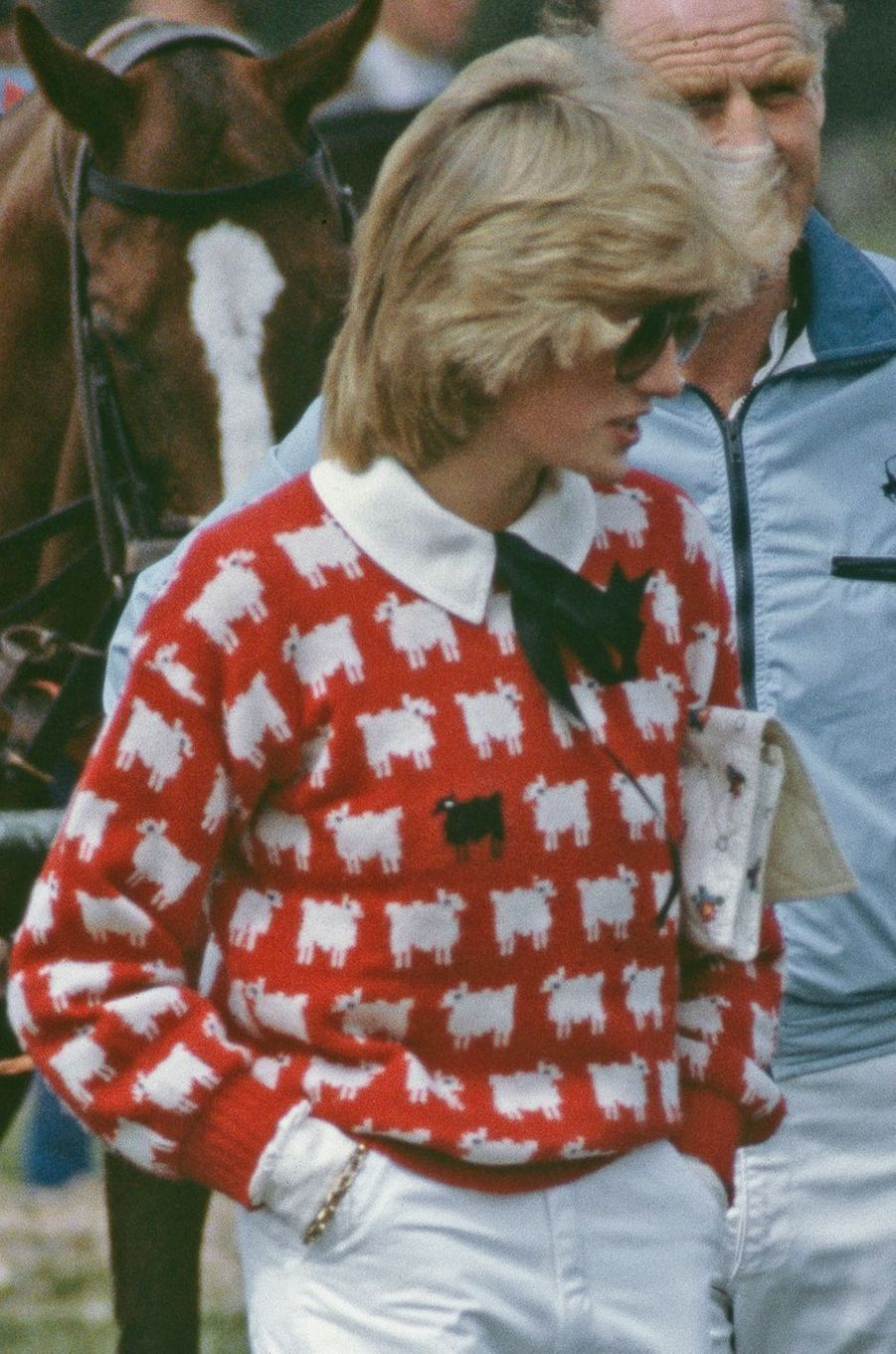 Le pull moutons de la princesse Diana, en 1983