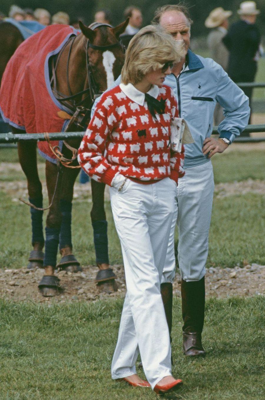 La princesse Diana, en 1983