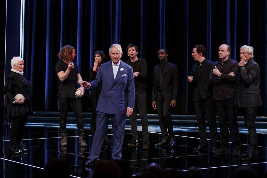 """Quand le prince Charles joue """"Hamlet"""""""