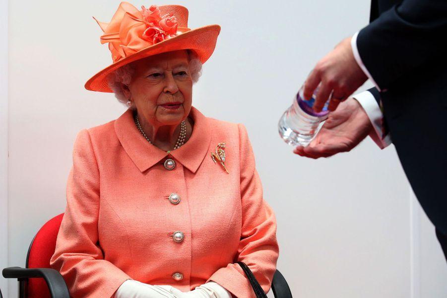 La reine Elizabeth II à Blackford, le 6 juillet 2017