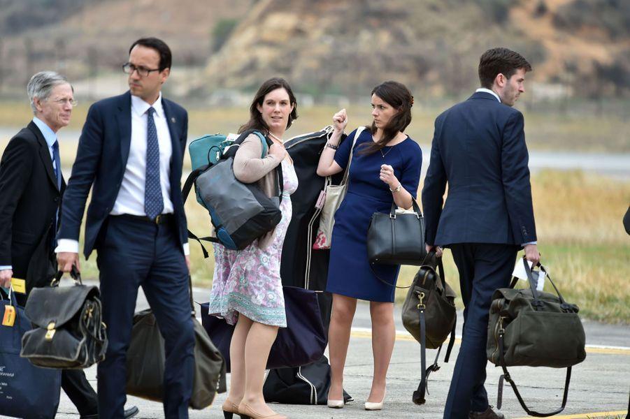 Jason Kanuf est le responsable en chef de la communication du trio de Kensington Palace, William, Kate et Harry. Au Canada, il sera accompagné de trois des attachés de presse qu'il a sous ses ordres, parmi lesquelles Katrina McKeever et Charlotte Poole. Tous les trois étaient déjà du voyage en Inde et au Bhoutan.
