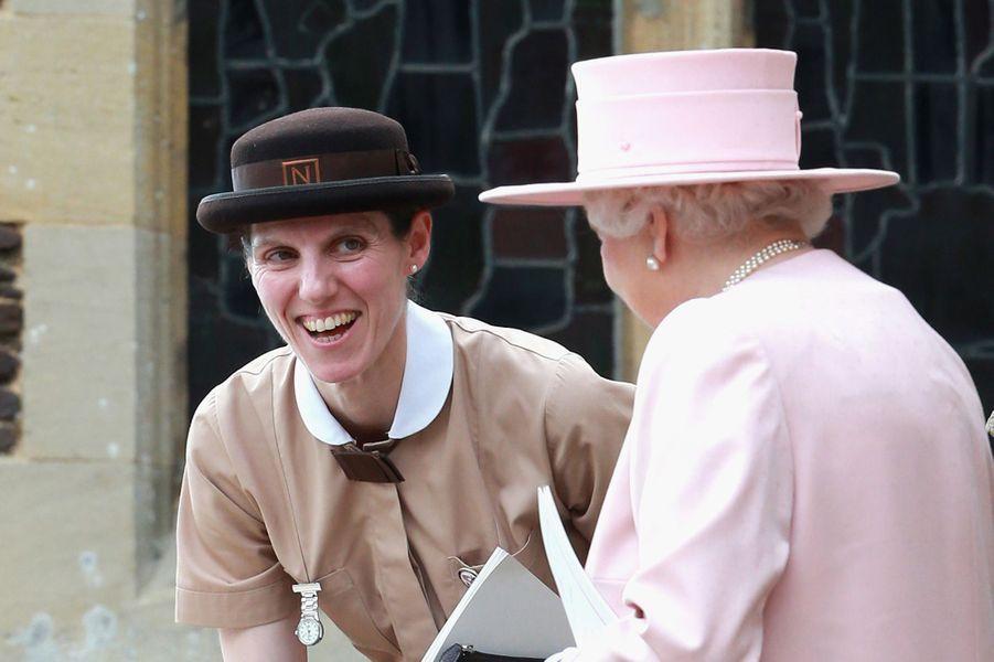 Maria Teresa Turrion Borrallo, 45 ans, est la nounou du prince George. Espagnole, parfaitement bilingue, elle est diplômée du Norland College de Bath en Angleterre, l'un des meilleurs établissements mondiaux en la matière. Nounou depuis près de 20 ans pour de très riches parents, Maria a pris son nouveau poste au mois de février 2014.