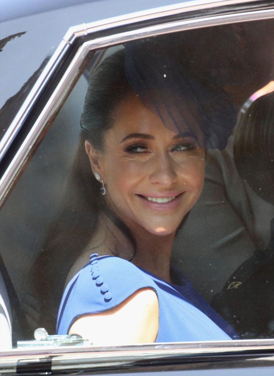 Jessica Mulroney arrivant au mariage du prince Harry et Meghan Markle