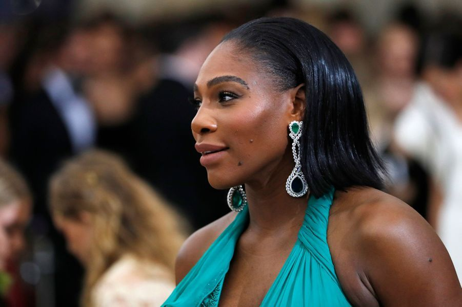 La championne de tennis Serena Williams