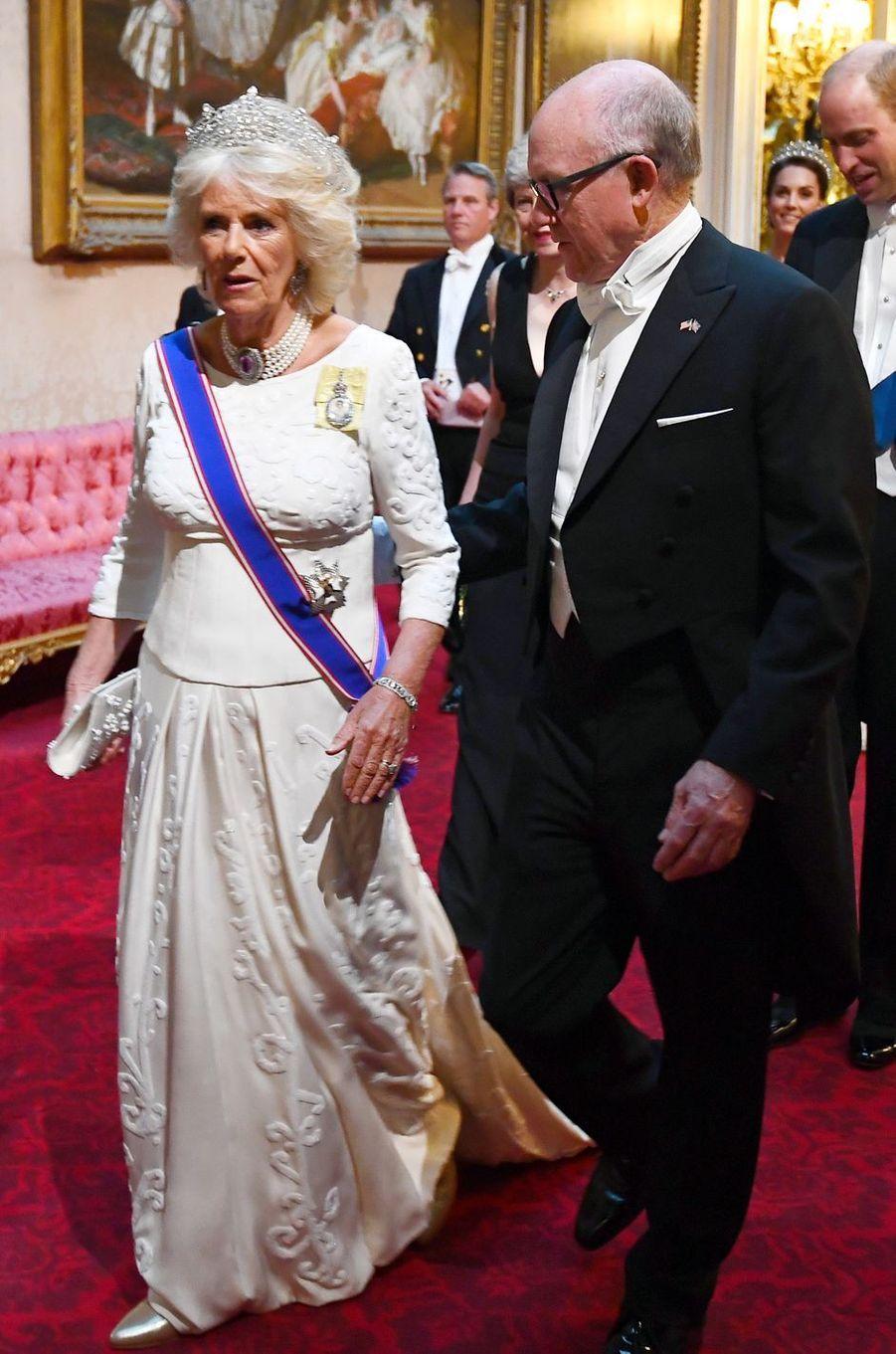 La duchesse de Cornouailles Camilla, à Londres le 3 juin 2019
