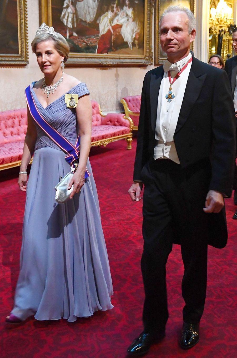 La comtesse Sophie de Wessex, à Londres le 3 juin 2019