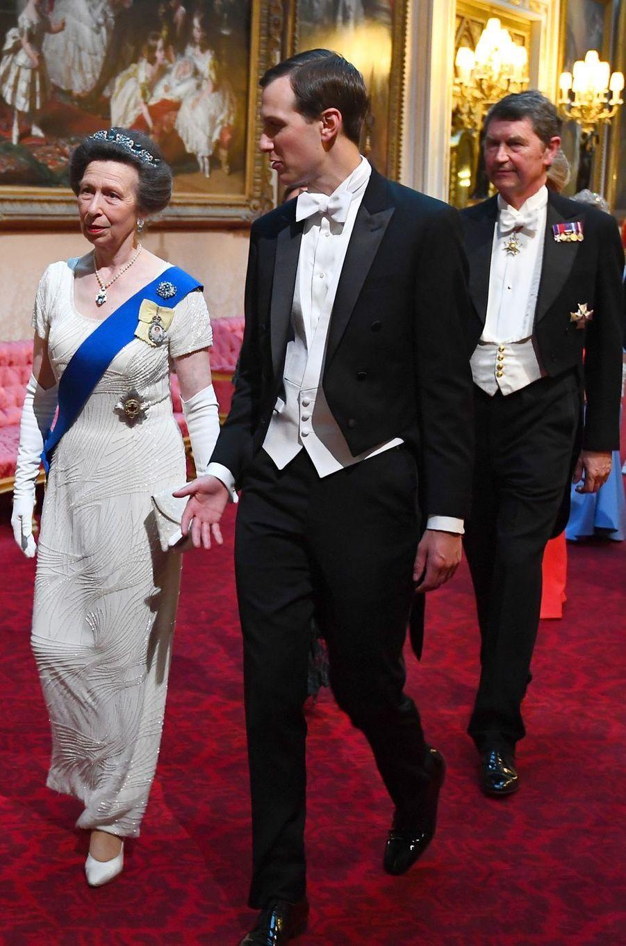 La princesse Anne, à Londres le 3 juin 2019