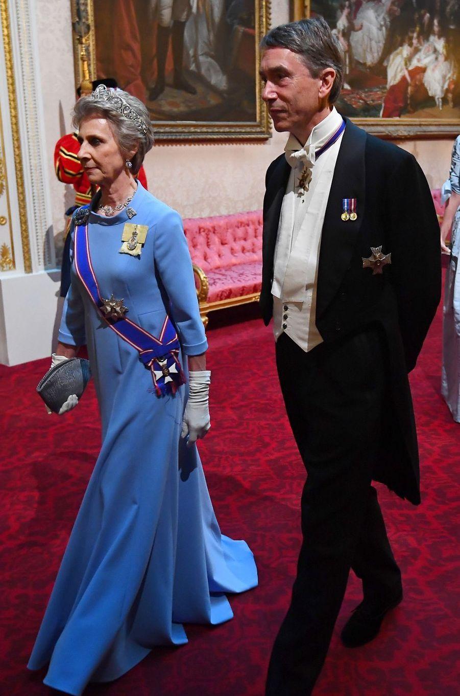 La duchesse Birgitte de Gloucester, à Londres le 3 juin 2019