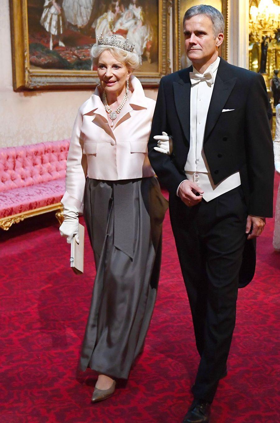 La princesse Marie-Christine de Kent, à Londres le 3 juin 2019