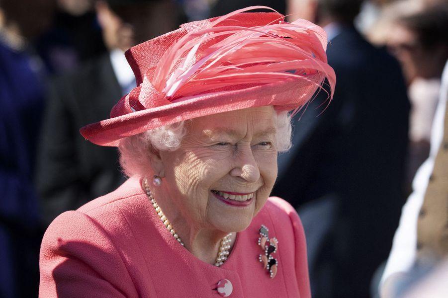 La reine Elizabeth II à Edimbourg, le 3 juillet 2019