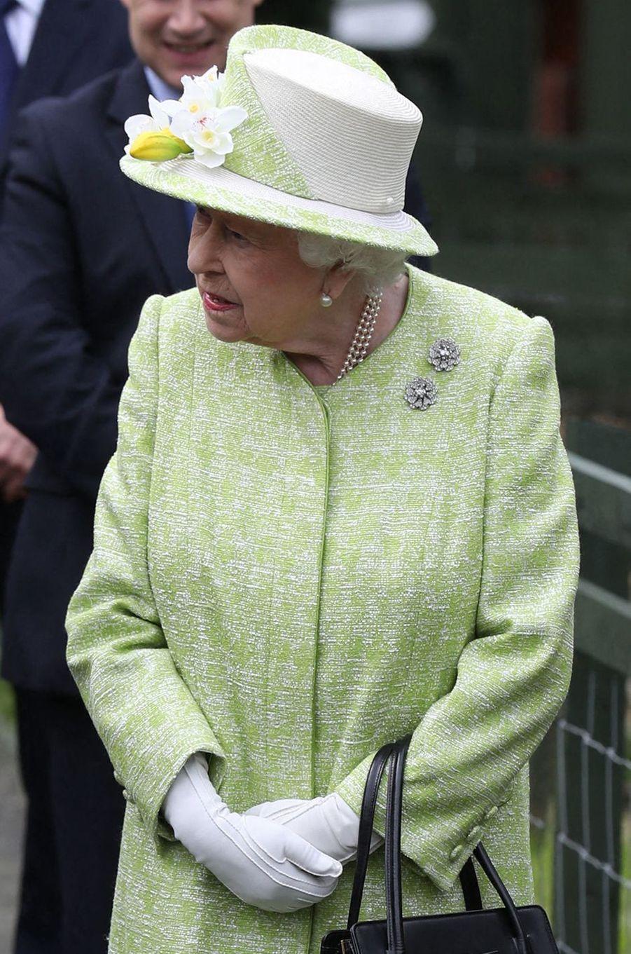 La reine Elizabeth II à Edimbourg, le 4 juillet 2019