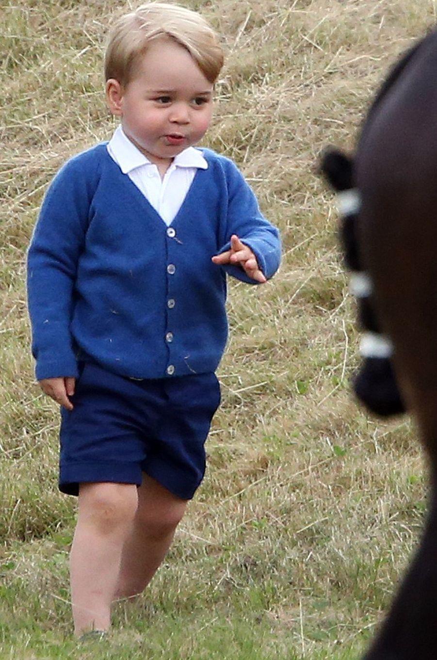 Le prince George à Tetbury, le 14 juin 2015