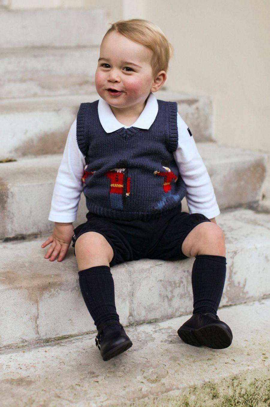 Le prince George à Londres, le 14 décembre 2014