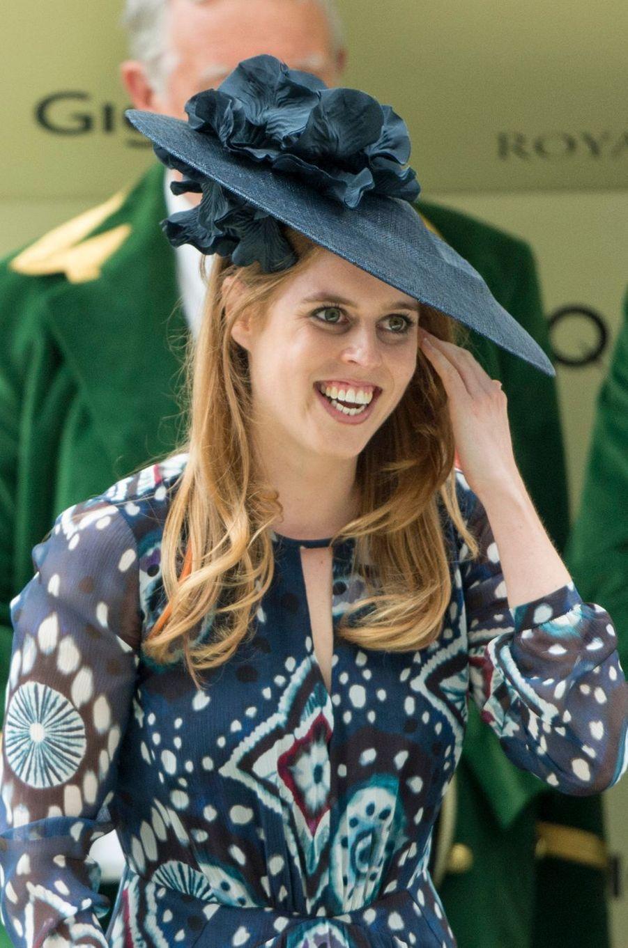 La princesse Beatrice d'York à Ascot, le 18 juin 2016
