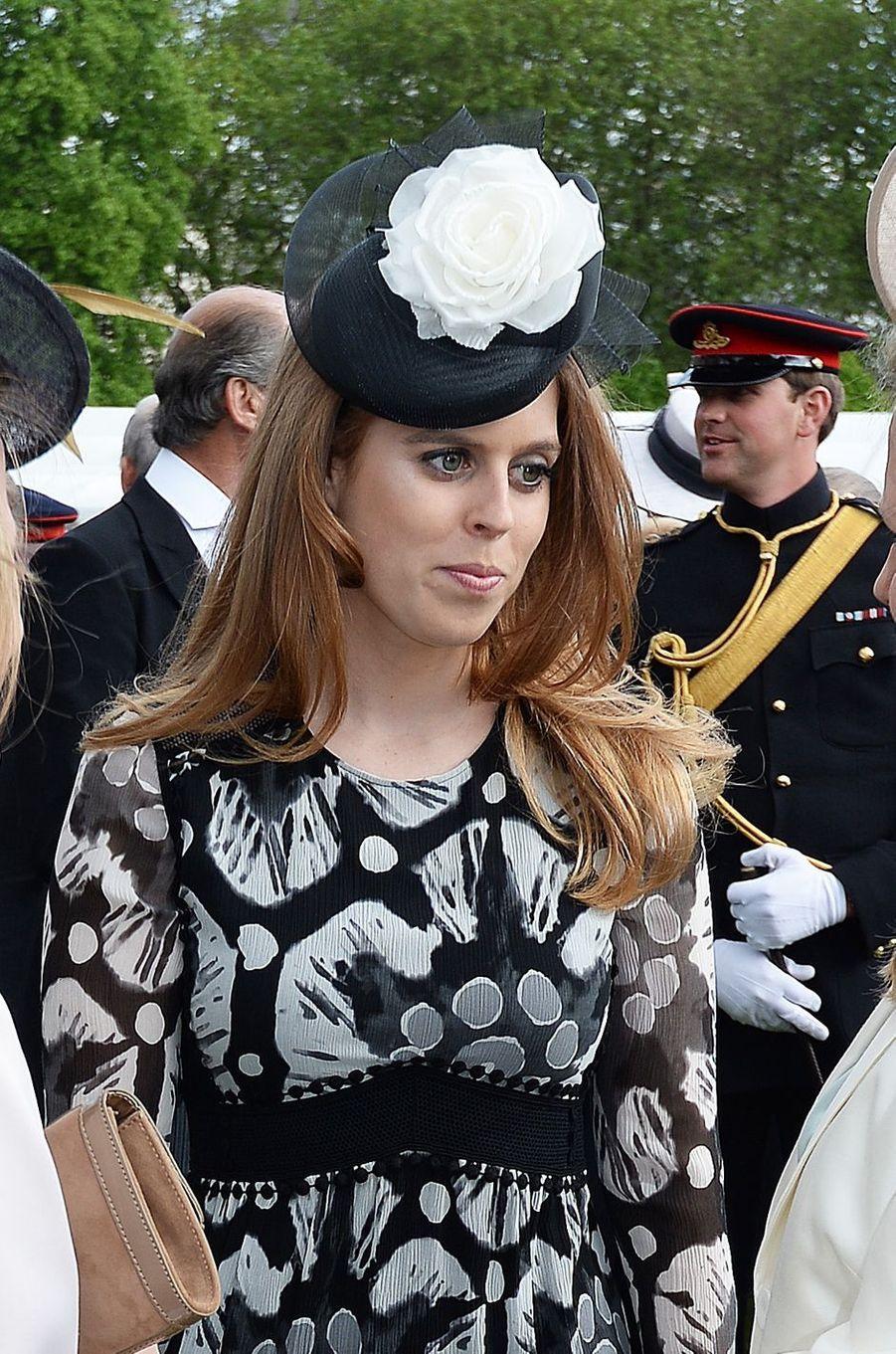 La princesse Beatrice d'York à Londres, le 24 mai 2016