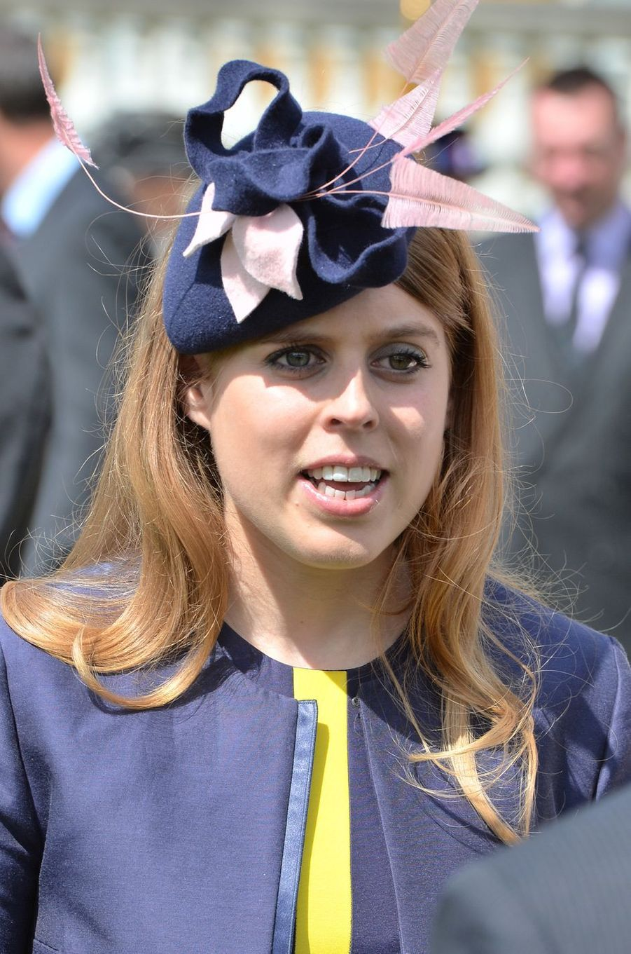 La princesse Beatrice d'York à Londres, le 26 mai 2016