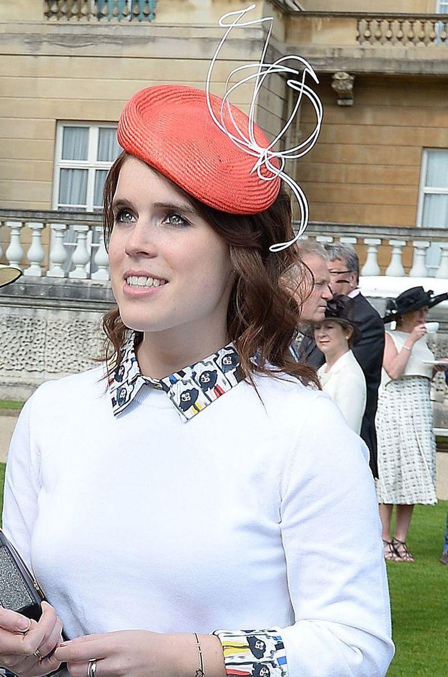 La princesse Eugenie d'York à Londres, le 24 mai 2016