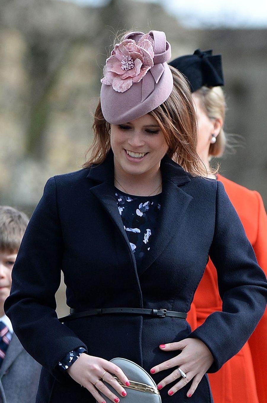 La princesse Eugenie d'York à Londres, le 27 mars 2016